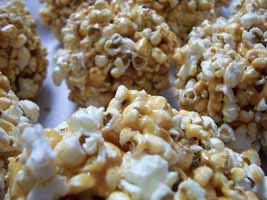 Weight Loss Recipes : Honey Popcorn Balls