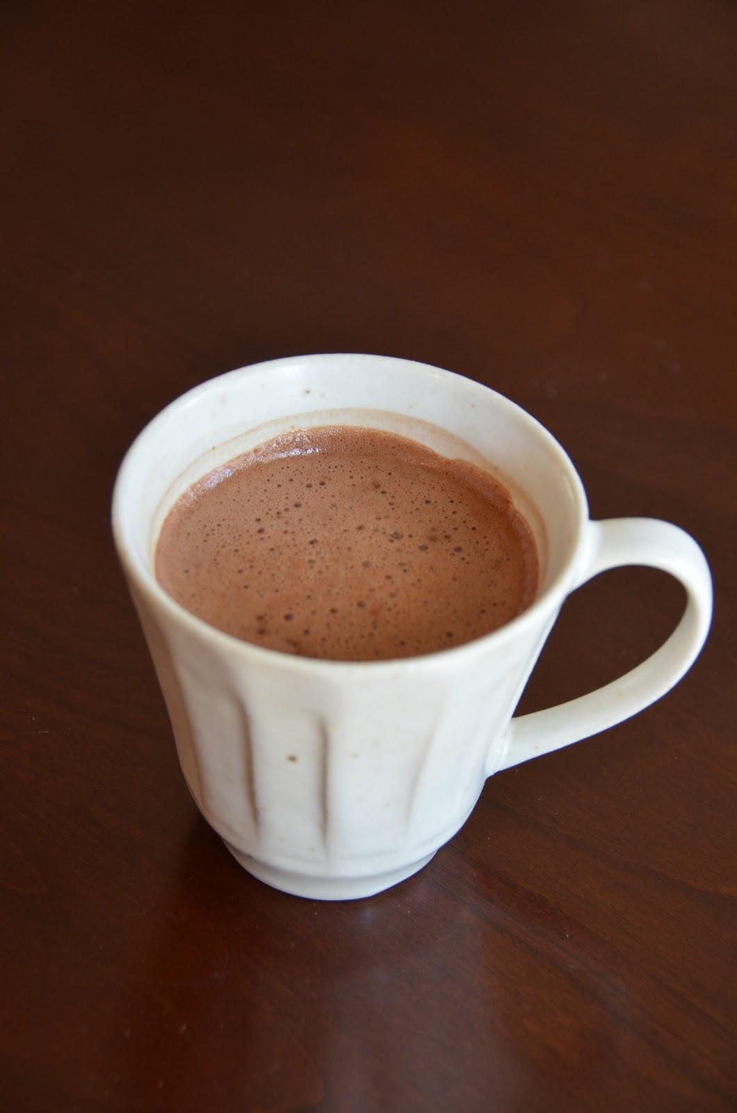 Homemade Hot Chocolate Powdered Sugar