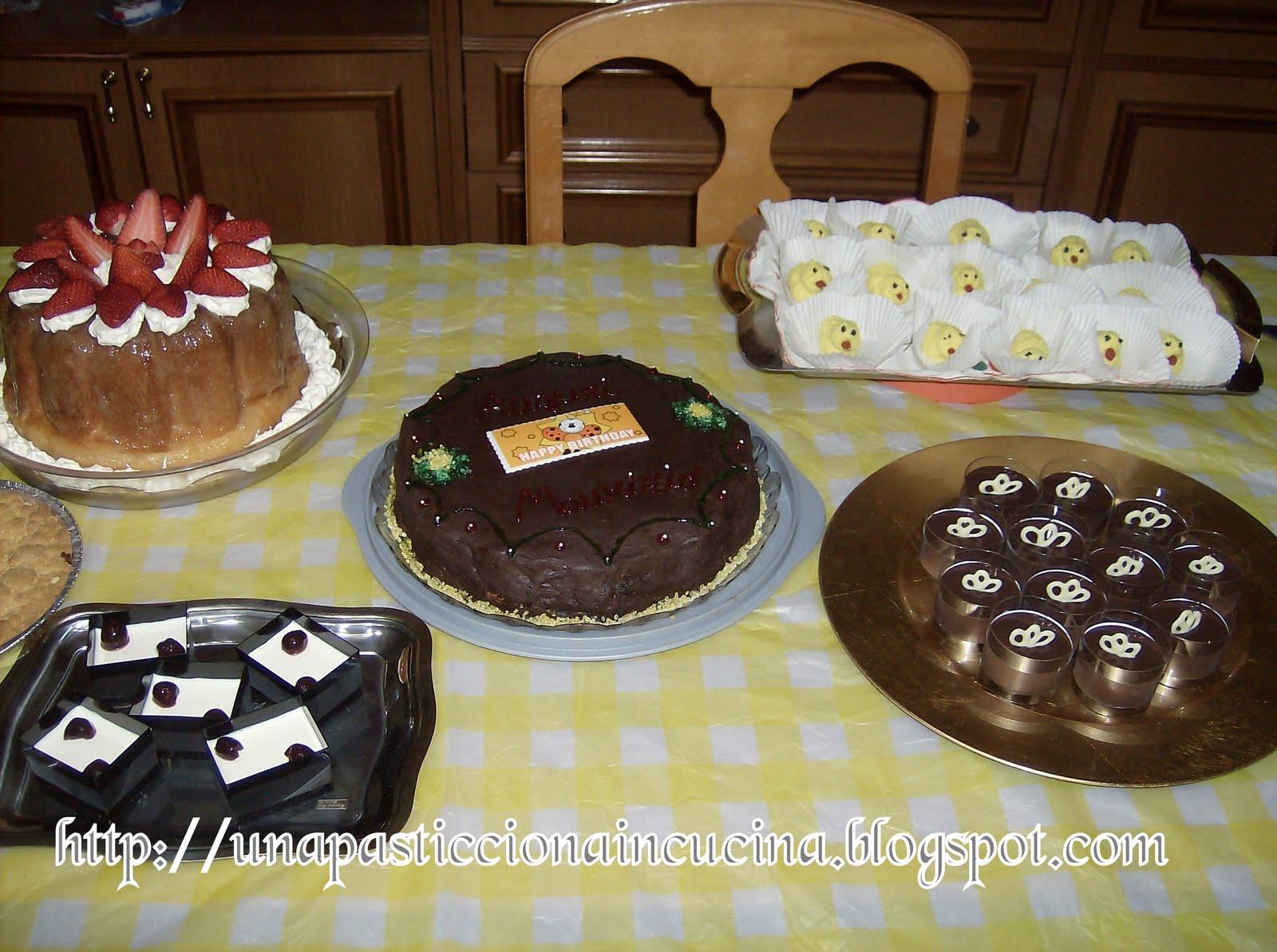 Buffet di dolci per compleanno for Siti ricette dolci