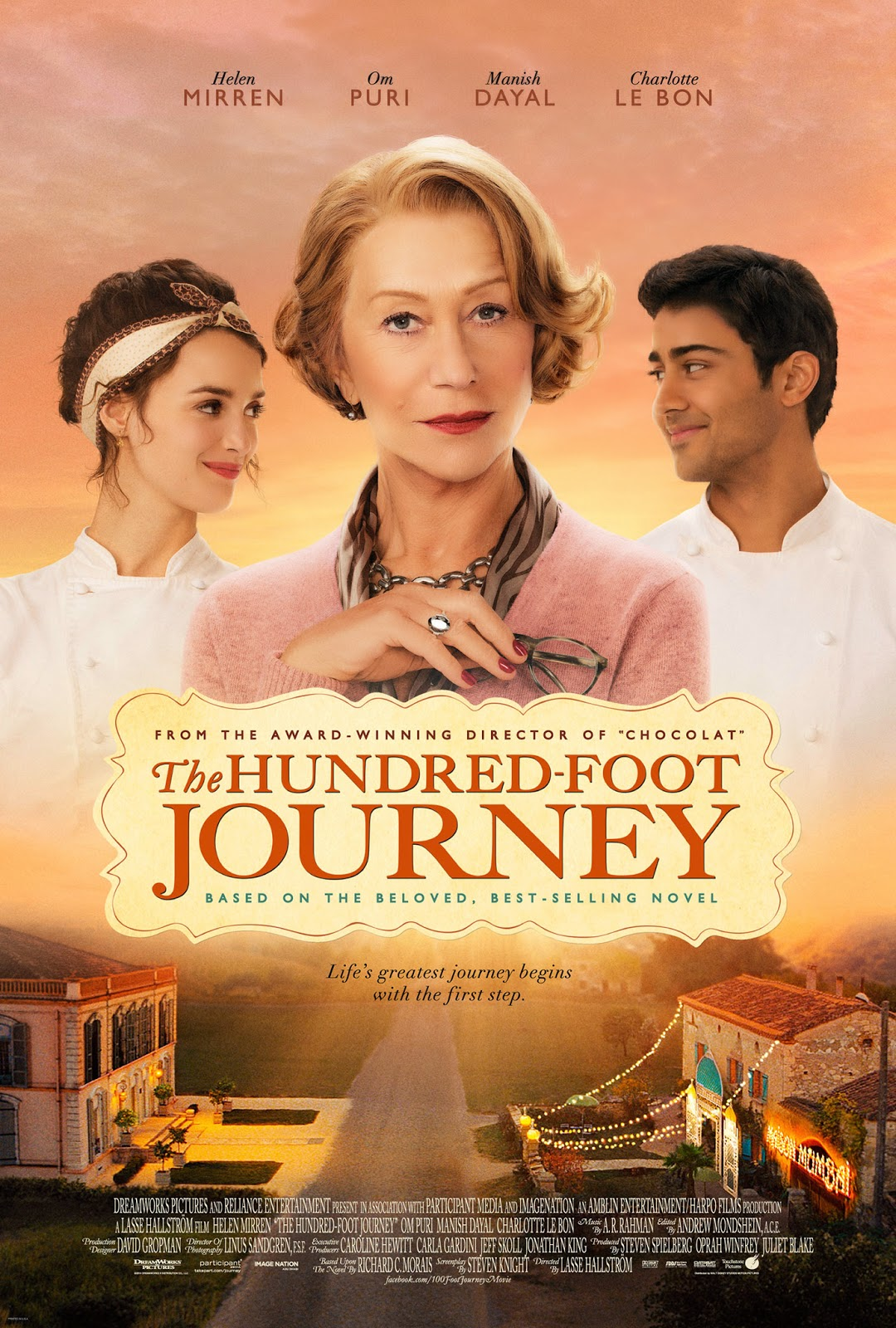 The Hundred Foot Journey #100FootJourney