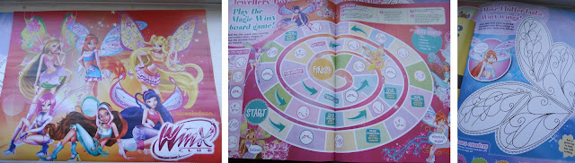 Winx Club, children magazine, girls magazine