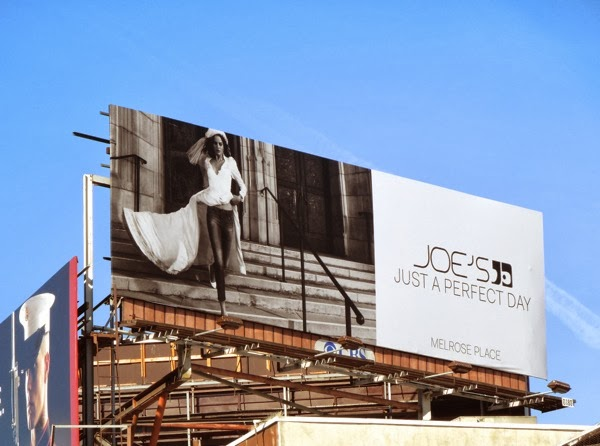 Joes Jeans wedding dress billboard Sunset Strip