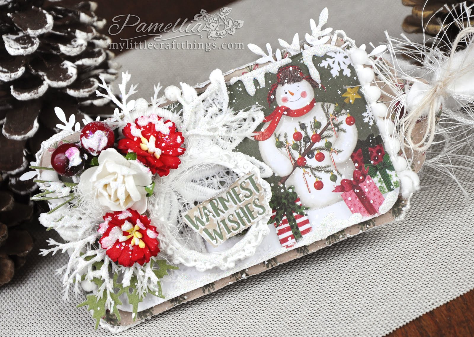 Pop-Up Snowman Christmas Card