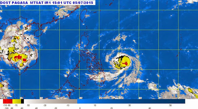 Signal No. 1 up in 7 areas due to Typhoon Dodong | PAGASA Latest Update