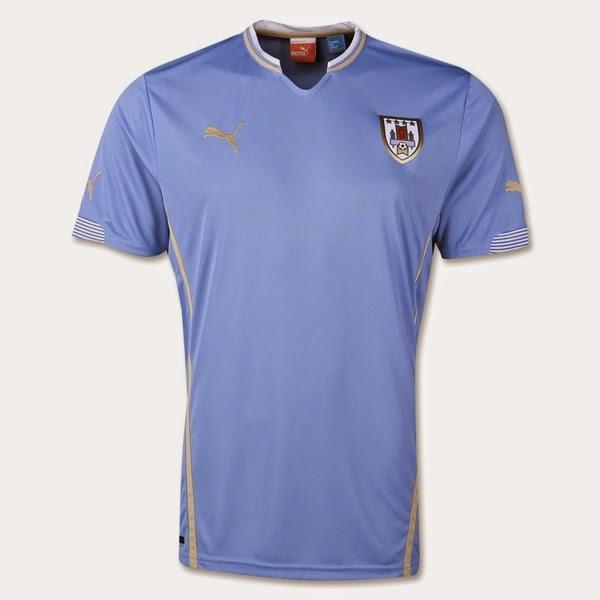 Jersey Negara Uruguay - Piala Dunia 2014