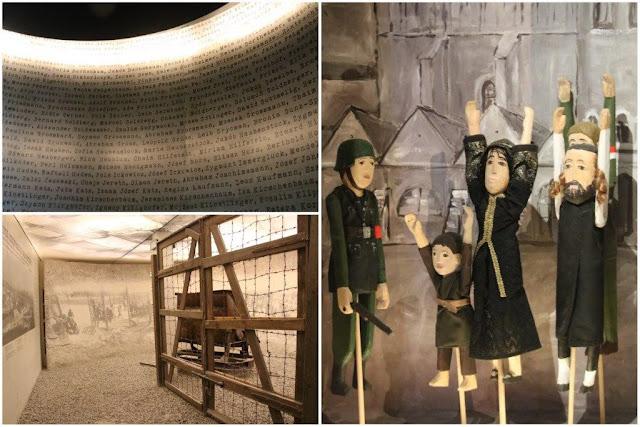 Exposicion en la Fabrica de Oskar Schindler Emalia  en Cracovia – Lista de Schindler – Campo de concentración de Plaszow - Judios ante oficial nazi