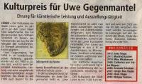 Kulturpreis 2013 der Stadt Lünen