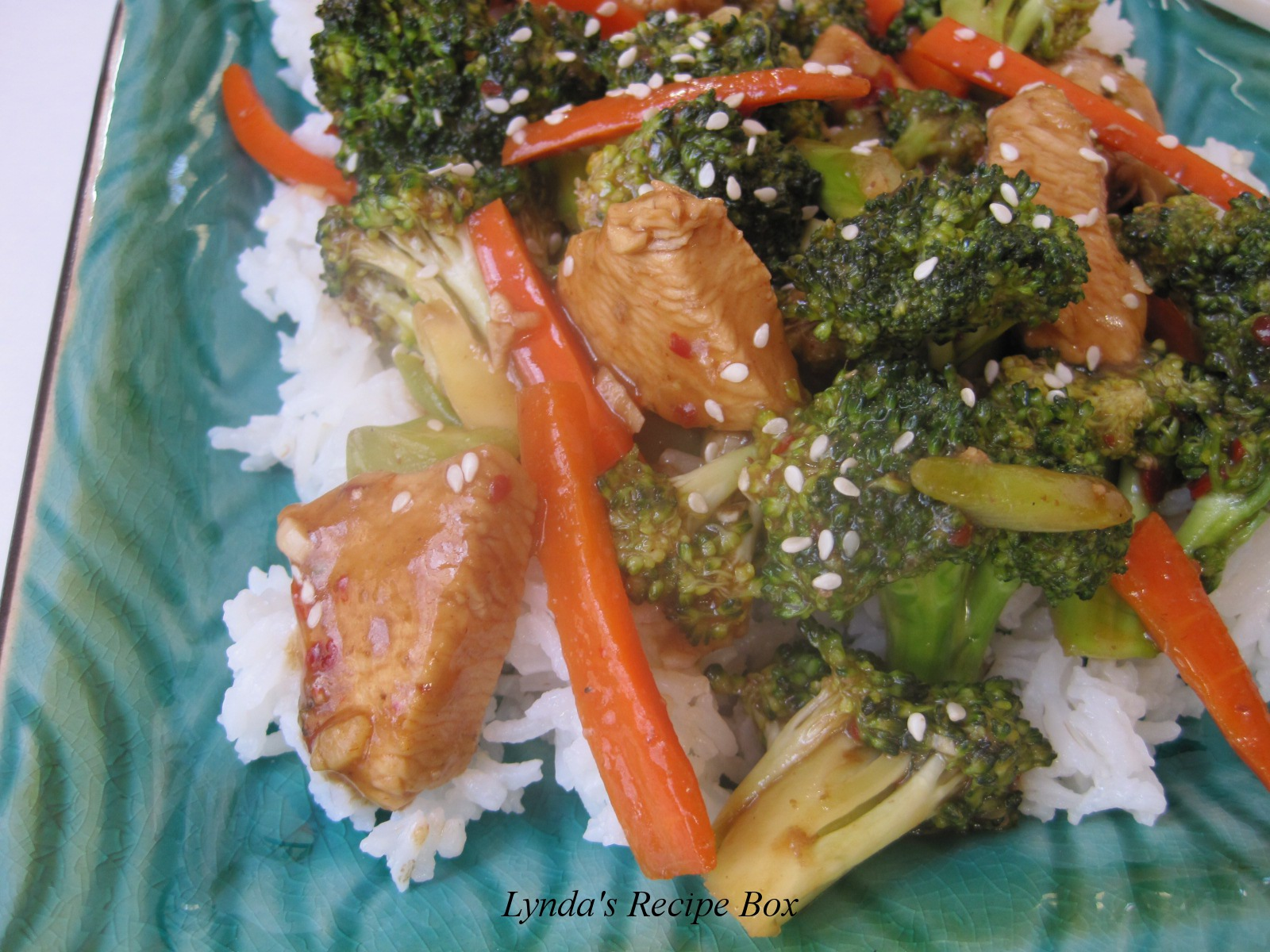 Lyndas recipe box chicken and broccoli stir fry chicken and broccoli stir fry adapted from food network hint have all the ingredients chopped minced and with in reach and this dish will come together forumfinder Gallery