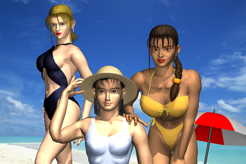 Tekken Swimsuit Jun Beach
