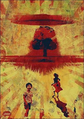 Pinturas surrealistas creadas con sangre real - Nuclearsin