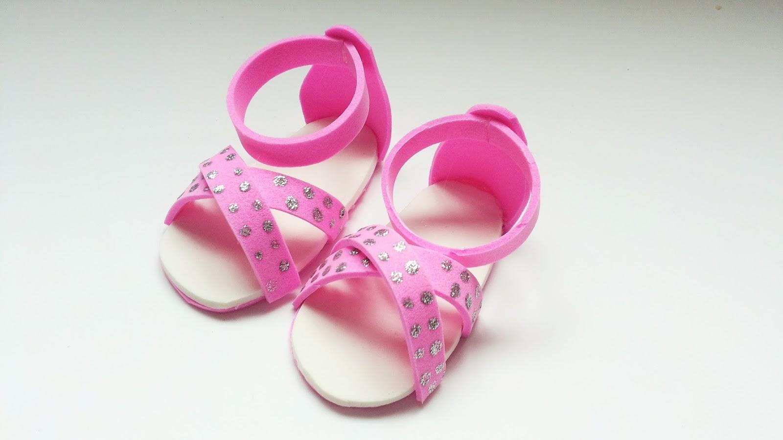 Artesanato Viviane Magalh u00e3es Sandalinha para beb u00ea passo a passo com moldes