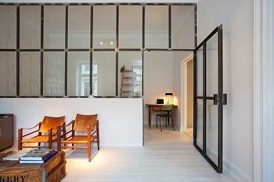 SOLUCIONES: una cristalera para una habitación sin ventana