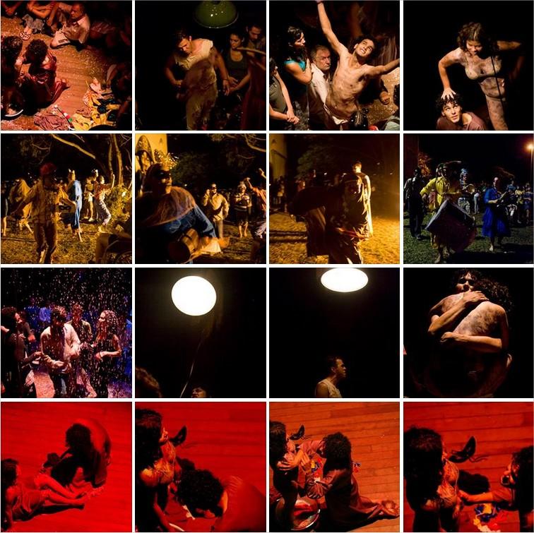 cia. víÇeras - espetáculo claustro (2010) - painel de fotos