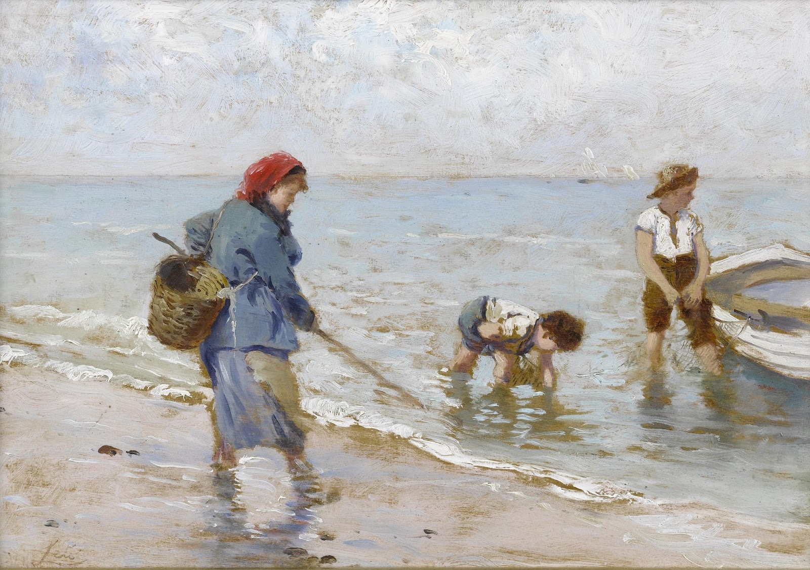 Antonino Leto The clam fishers