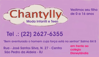 Chantylly - Moda Infantil e Teen