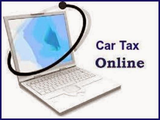 Online car tax