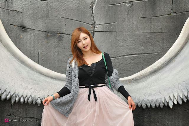 4 Han Ga Eun Outdoors - very cute asian girl-girlcute4u.blogspot.com