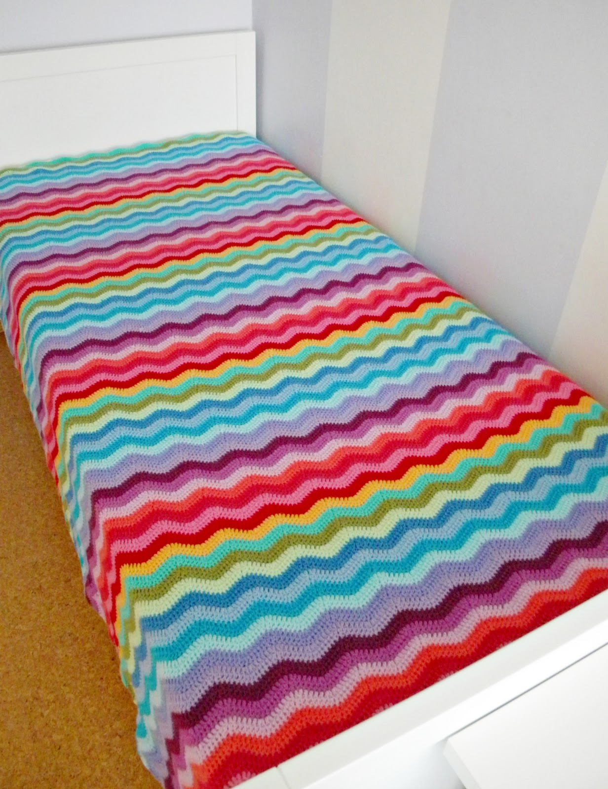 Ravelry Granny Stripes pattern by Lucy of Attic24