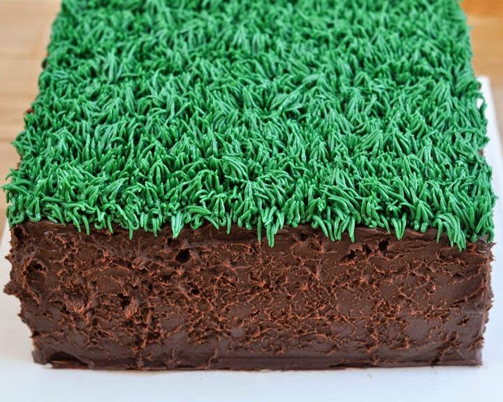 Beki Cooks Cake Blog Easy Minecraft Birthday Cake