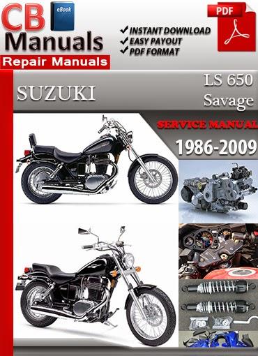 suzuki ls 650 savage 1986 2009 technical service manual service rh technicalservicemanuals blogspot com Suzuki KingQuad 400 Suzuki 400 QuadSport
