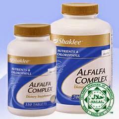 Faedah penggunaan Alfalfa Shaklee