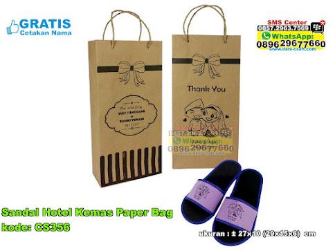 Sandal Hotel Kemas Paper Bag