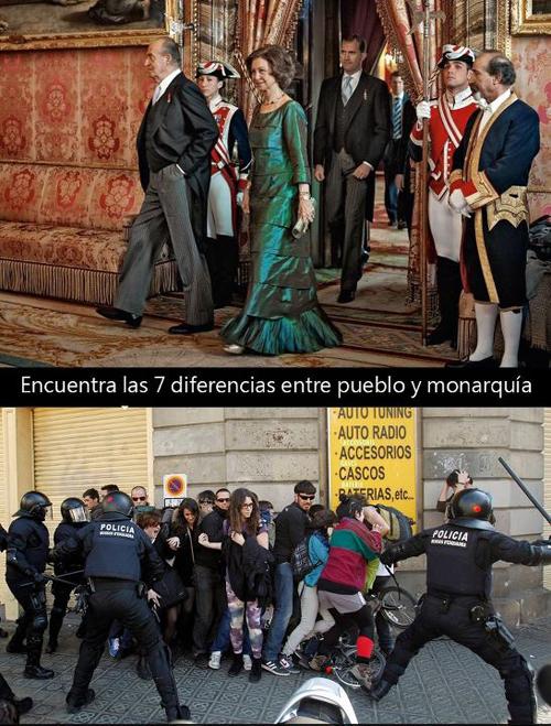 No queremos monarquías, ni reyes, ni reinas, queremos una república