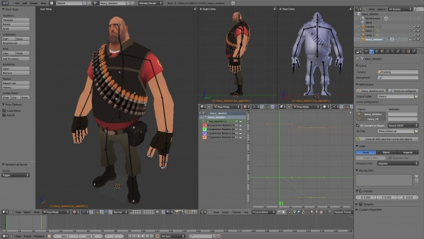 File Dragon: Blender 3D V.2.66a
