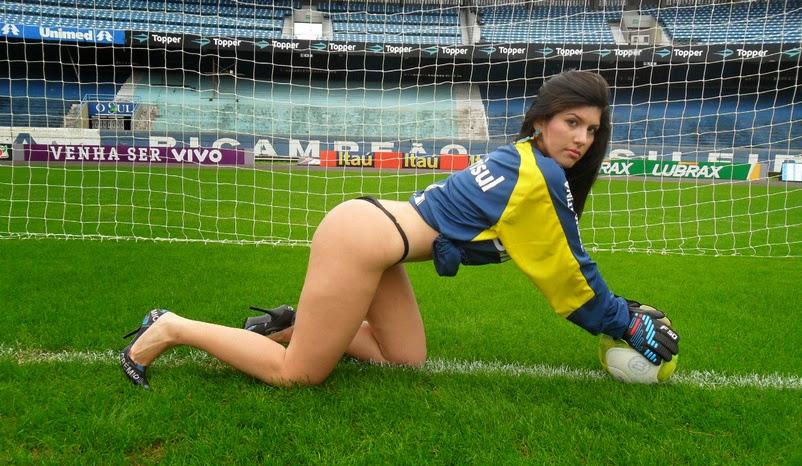 Candidata a Musa do Brasileirão 2013 pelo Grêmio - Fernanda Pereira