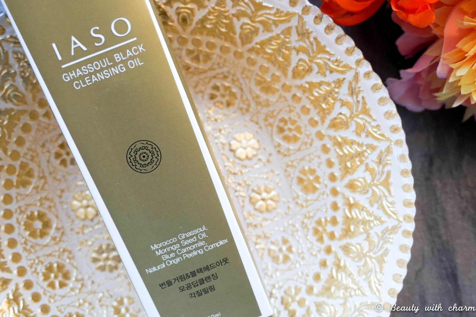 IASO Ghassoul Black Cleansing Oil