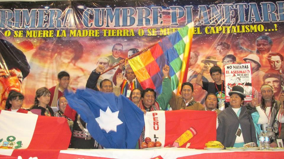 SE PARTICIPO EN CUMBRE MUNDIAL DE DESCOLONIZACION EN BOLIVIA