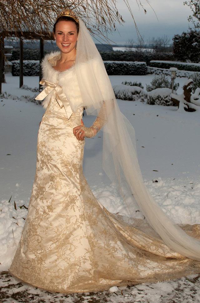 Gold Wedding Dresses Ideas ~ Bridal Fashion