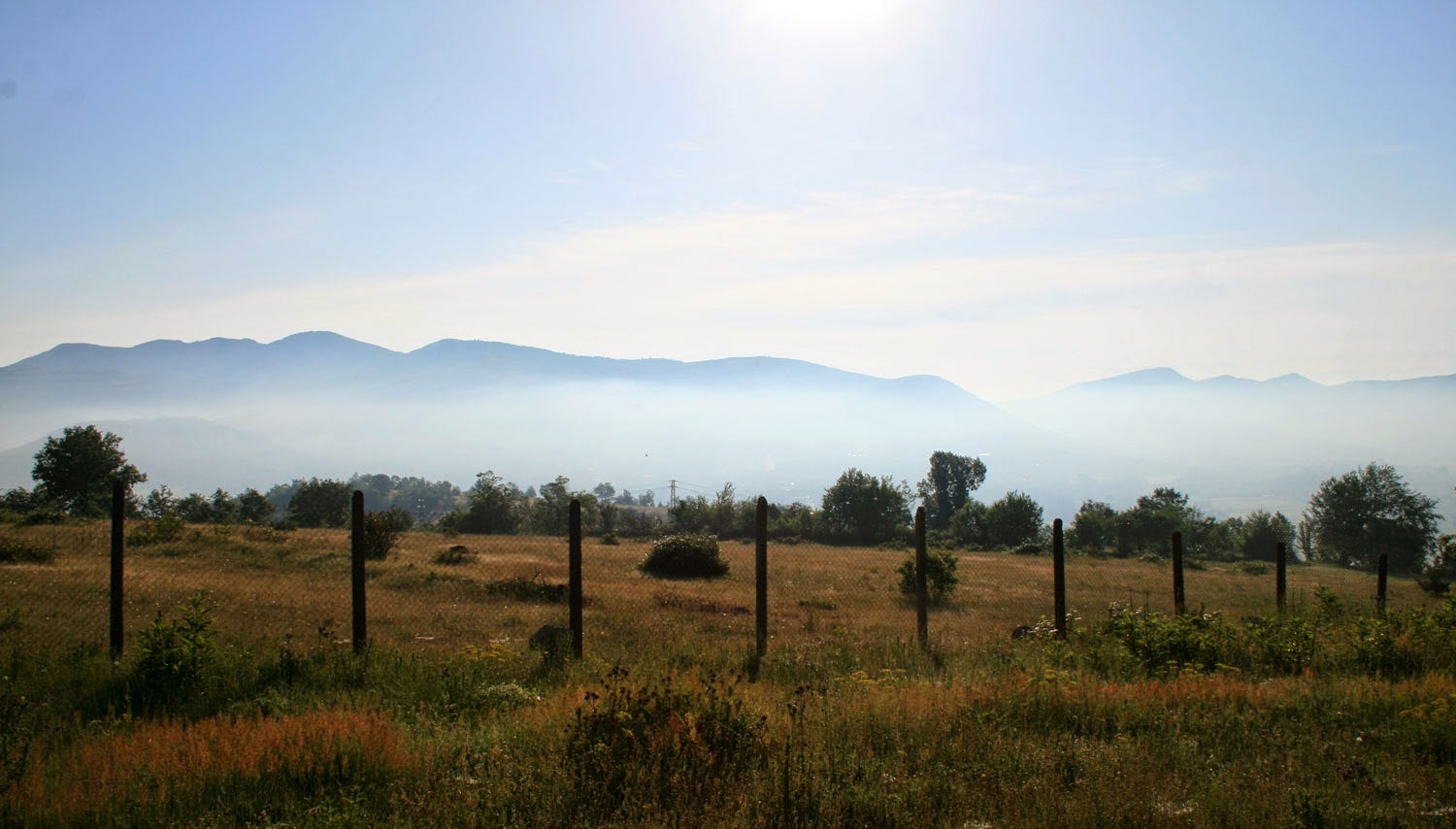 As usual, mist in the valley