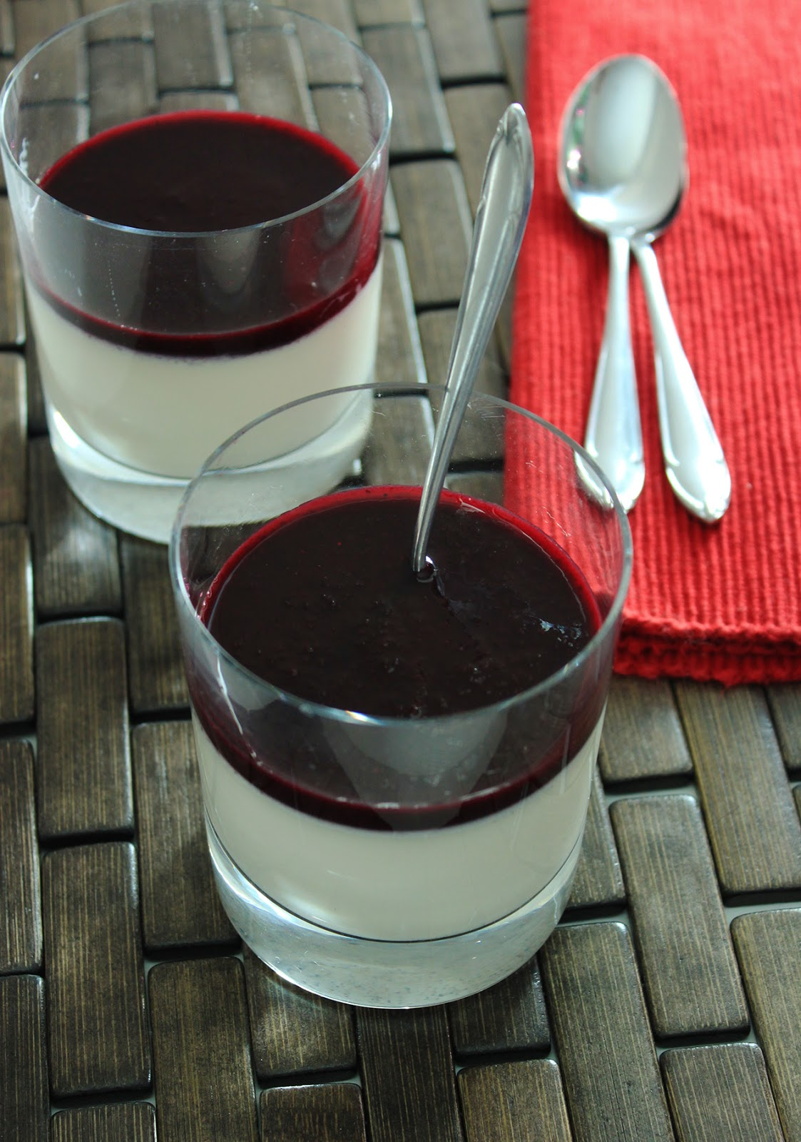 Red Bean Pudding With Blueberry Sauce Recipes — Dishmaps