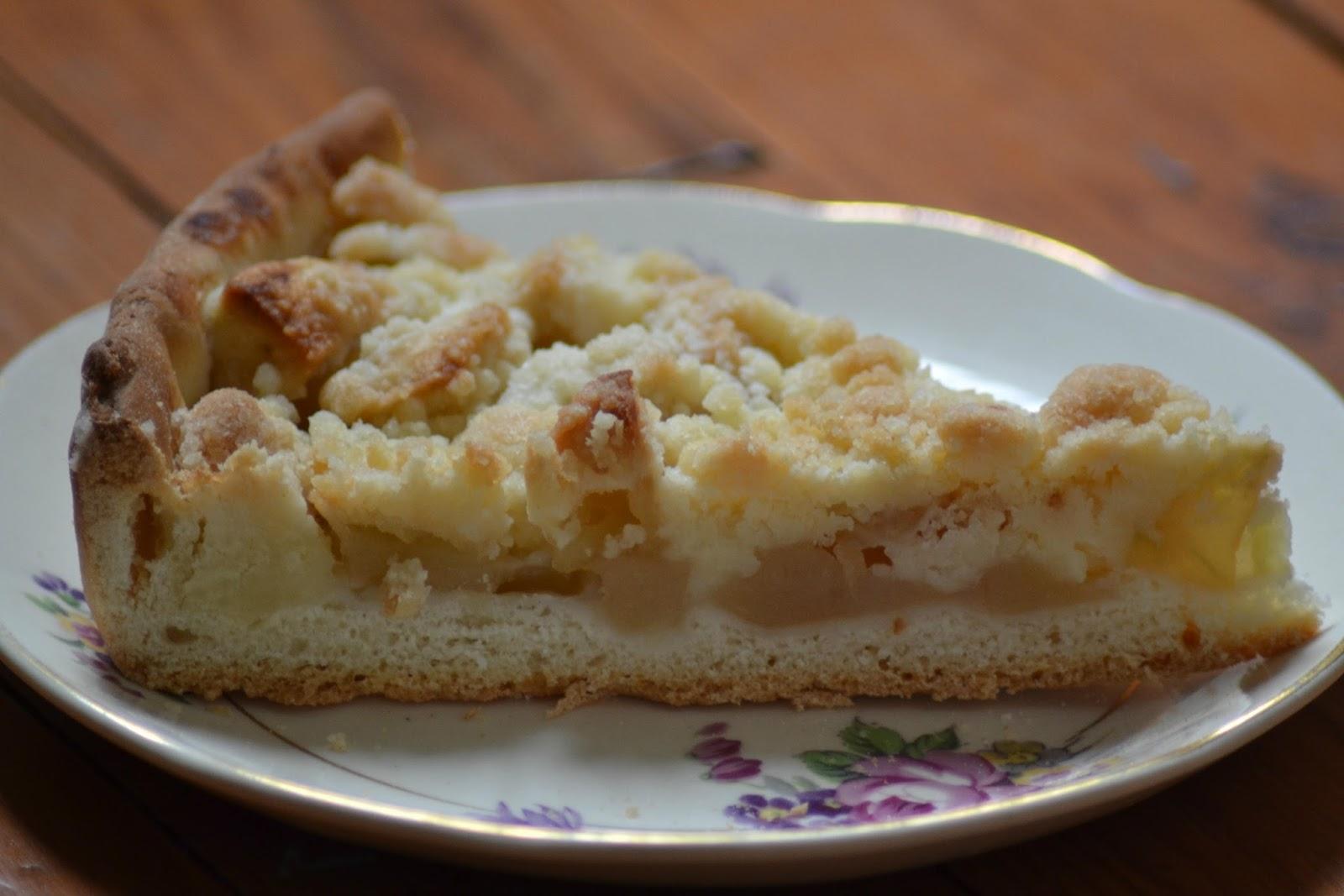 Heel Holland bakt: appel kruimel vlaai