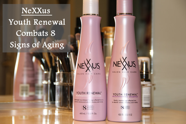 Nexxus Youth Renewal Combats 8 Signs of Aging