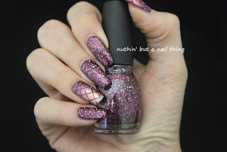YCC 104 - Sparkly purple glitter