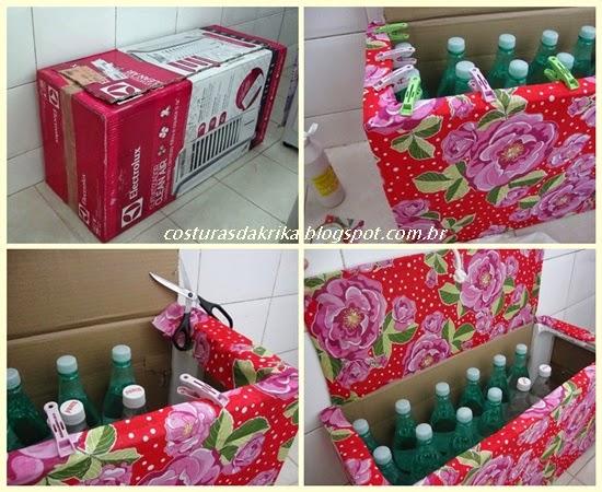 reciclagem de embalagem