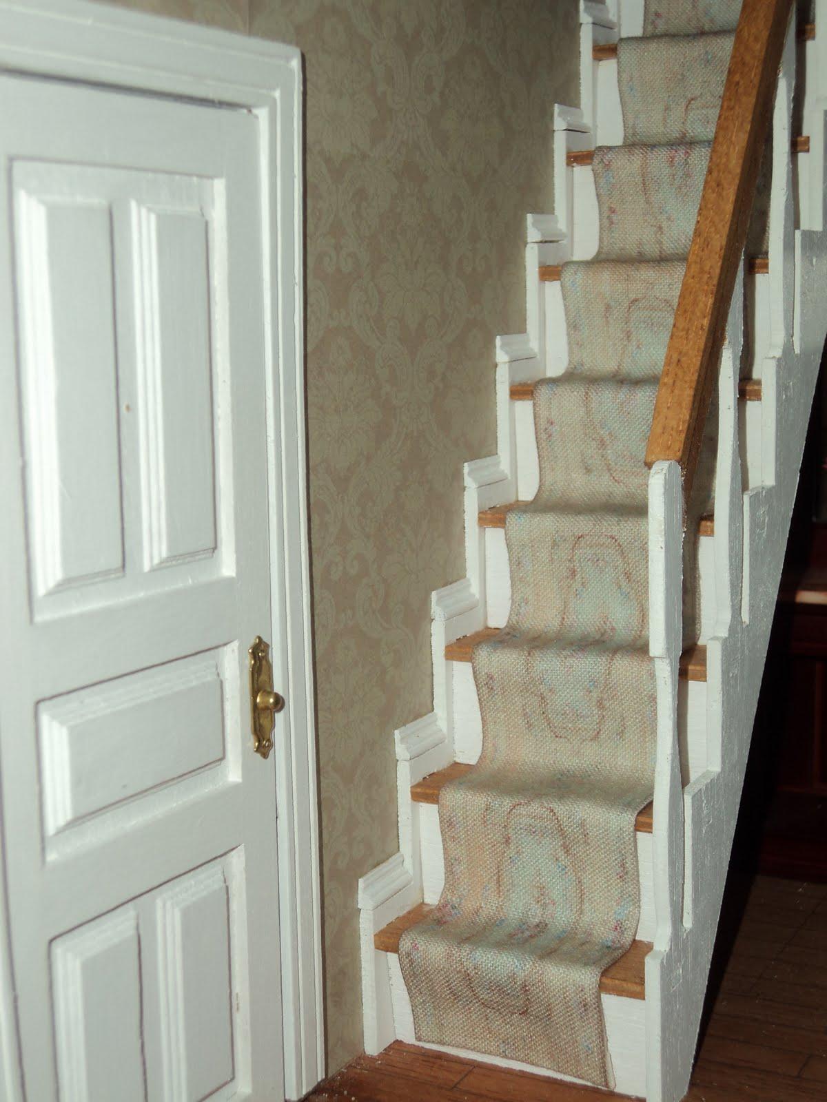 Las miniaturas y el vintage nuevas alfombras de escalera - Alfombra para escalera ...