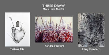 Three Artists Drawing Exhibit
