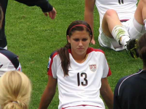 sports, people, soccer, Alex Morgan