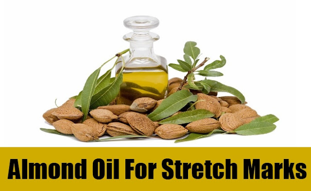 Almond oil For Stretch Mark