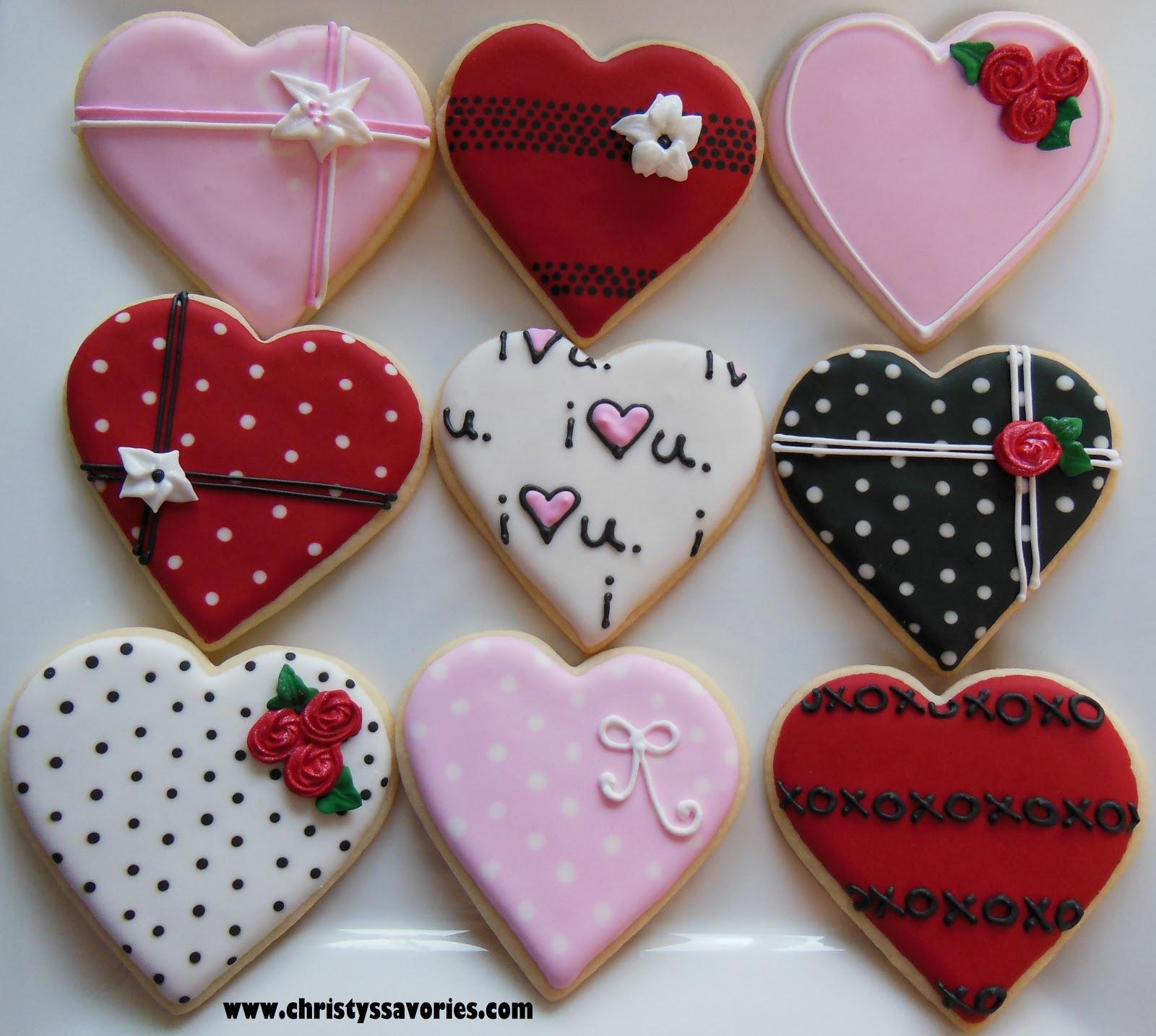 Perfekt Valentineu0027s Day Heart Cookies