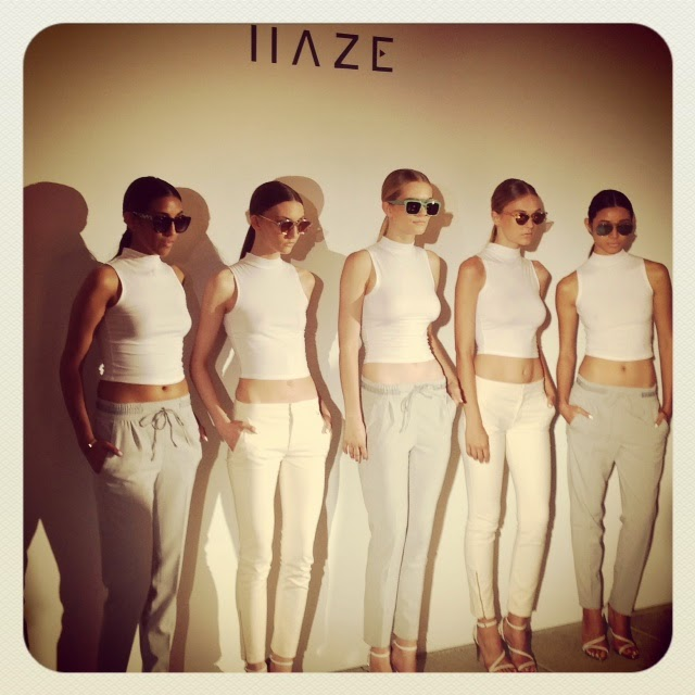 Haze Collection Mercedes Benz Fashion Week SS15