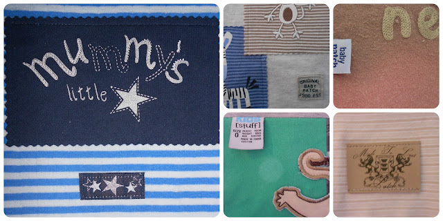 memory quilt for a boy