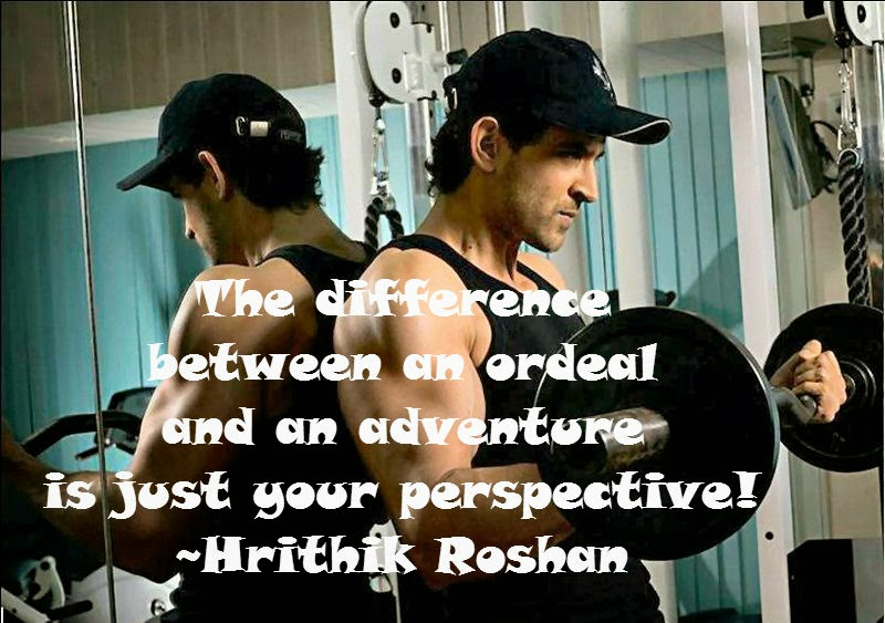 The difference between an Ordeal and an Adventure, Is just your Perspective! image quote