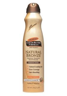 fake tan, fabulous, palmers, cocoa butter, gradual tanning, moisturiser, review, natural bronze, spray