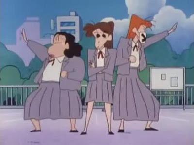 Mengapa Pola Pakaian Dalam Perempuan Di Anime Bergaris? Teori dan Respon Hal Aneh Mengenai Anime.