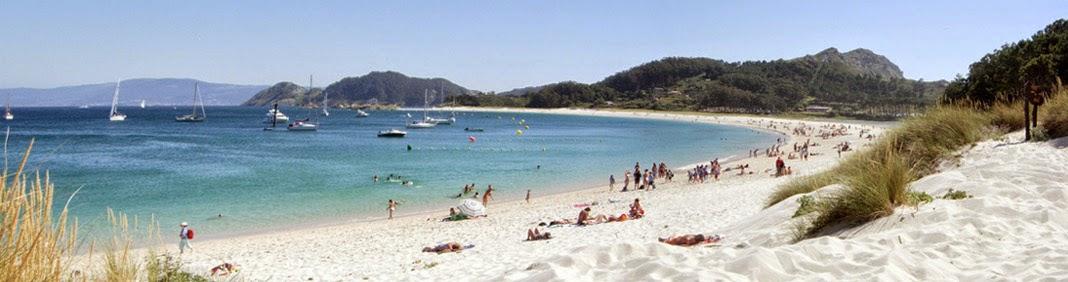 Turismo en las Islas Cies, Galicia