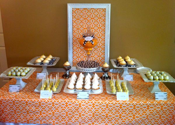 elements of design emphasis orange table